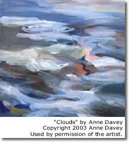 Clouds by Anne Davey