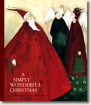 A Simply Wonderful Christmas: A Literary Advent Calendar