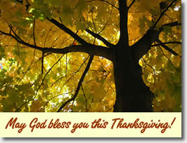 Thanksgiving e-card
