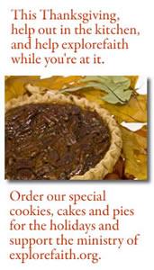 Thanksgiving baked goods from explorefaith